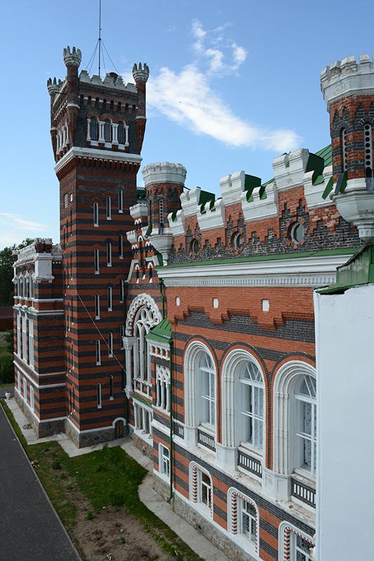 фасад с балкона