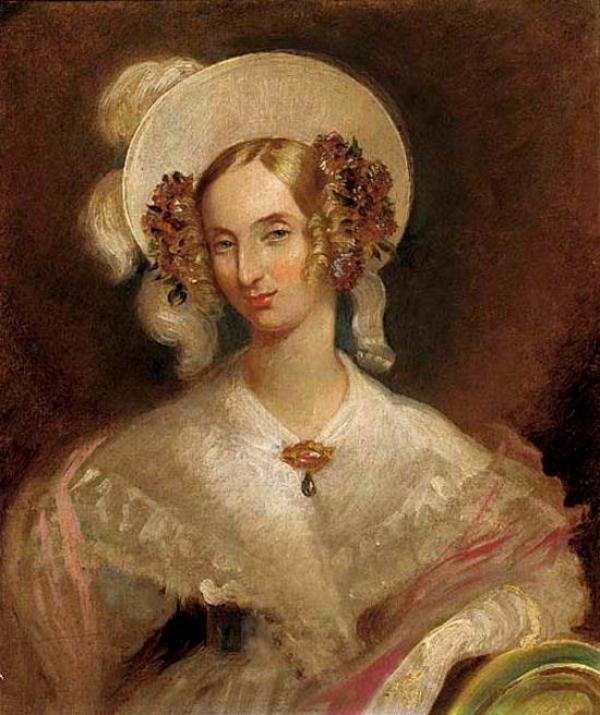 Portrait of Queen Louise of Belgium (1812-1850)