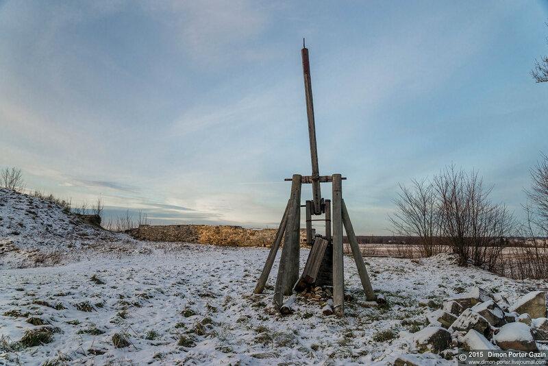 Эстония. Развалины замка Лихула