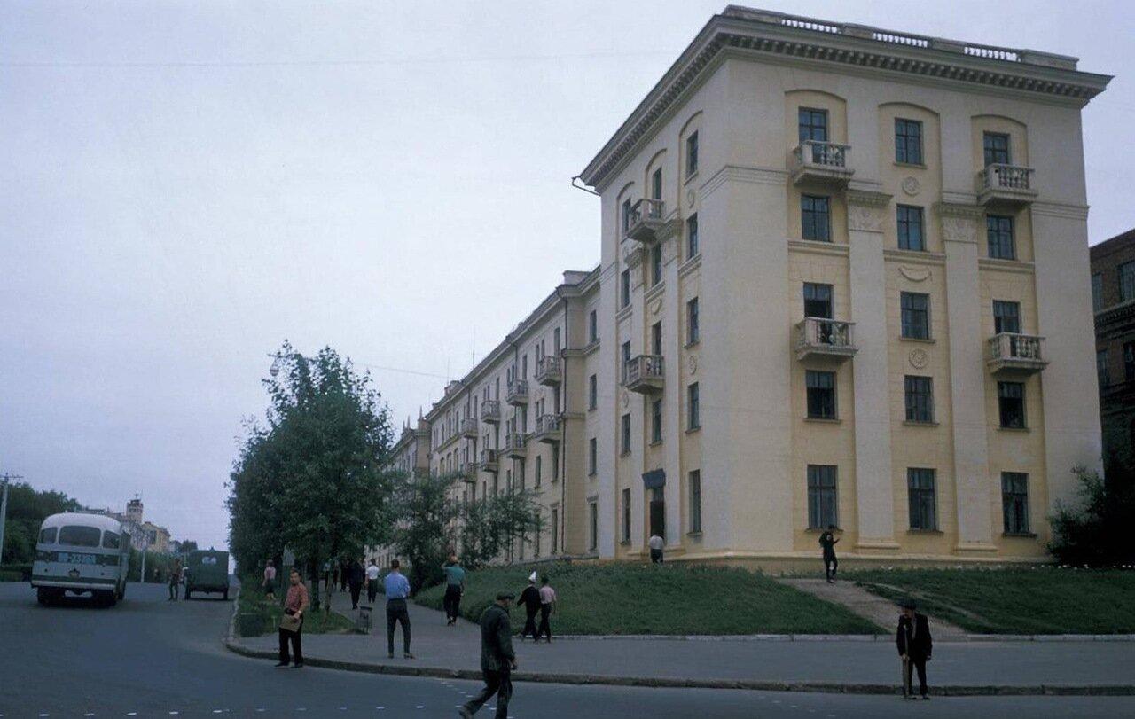 Хабаровск. Студенческое общежитие