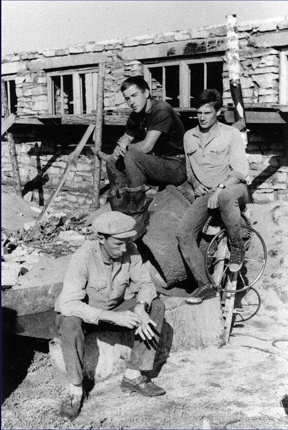 1966 Стройотряд, РИСИ. Целина- 66