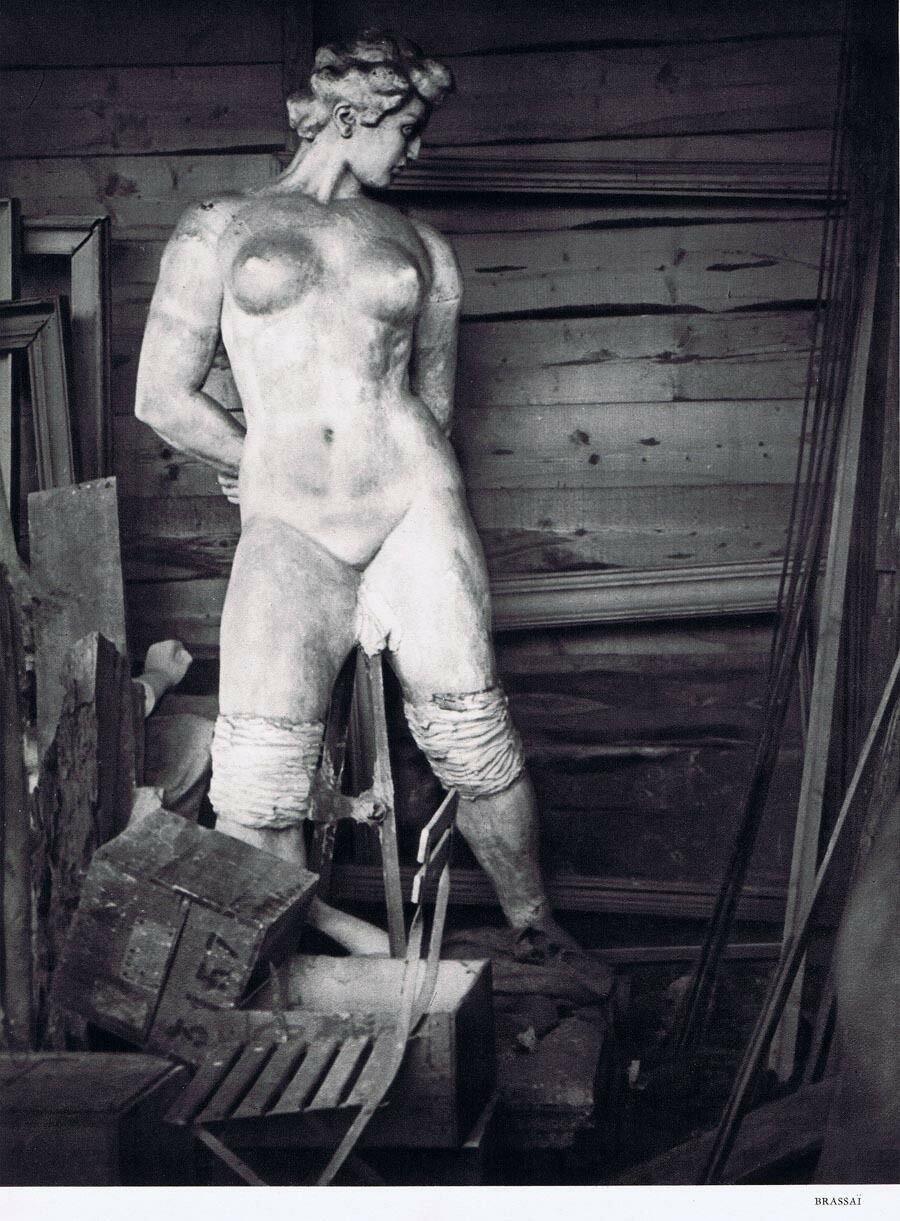 1937. Мастерская Аристида Майоля