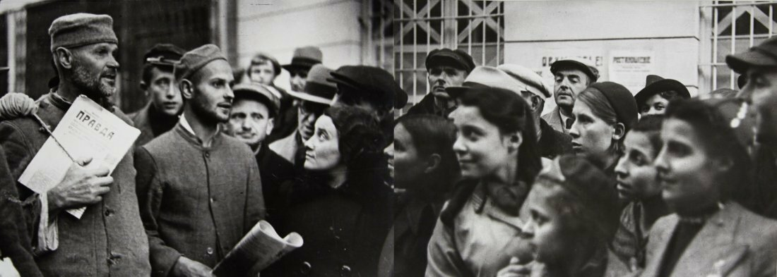 1939. Дмитрий Георгиевич Дебабов. Красная армия вошла в Вильно