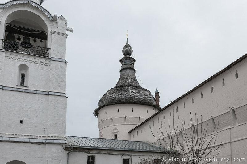 Башни Ростовского кремля