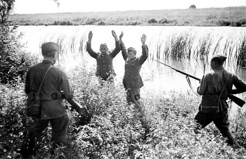 пленные немцы, немцы в советском плену