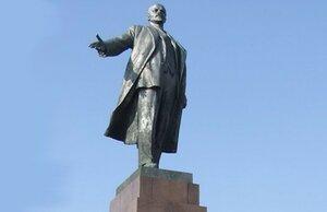 В Украине установили памятник Владимиру Ленину