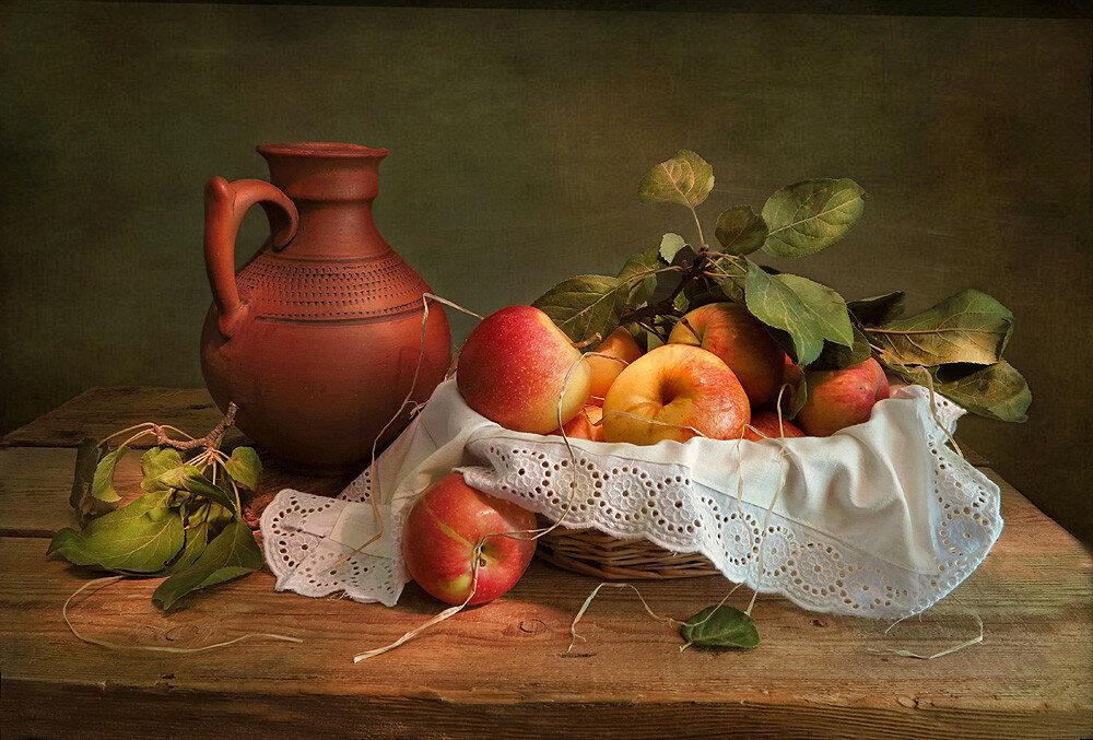 Осень в живописи любит натюрморты: