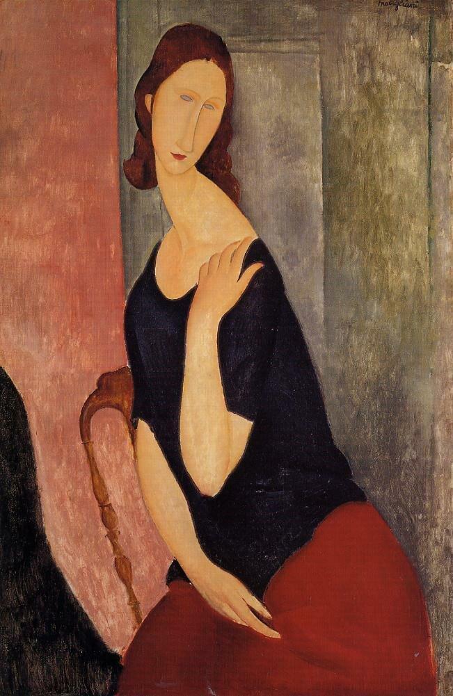 Portrait de Madame L - 1917 - Painting - oil on canvas.jpeg