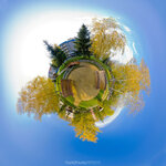 Панорама сада, ДО Солнечный берег | Виртуальный тур маленькие миры, сферическая панорама, осень, микропланета, Виртуальный тур