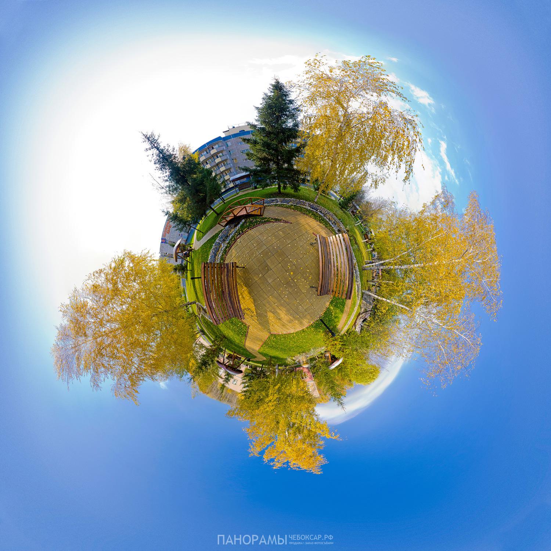 Панорама сада, ДО Солнечный берег | Виртуальный тур