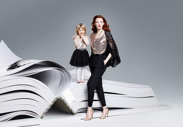 Карен Элсон (Karen Elson) и Лия Кебеде (Liya Kebede) в рекламной фотосессии для Lindex (11 фото)