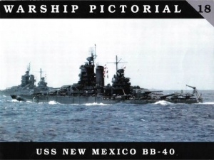 Книга USS New Mexico BB-40 (Warship Pictorial No 18)
