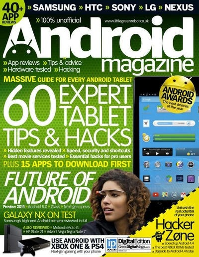 Книга Журнал: Android №33 (2013) [En]