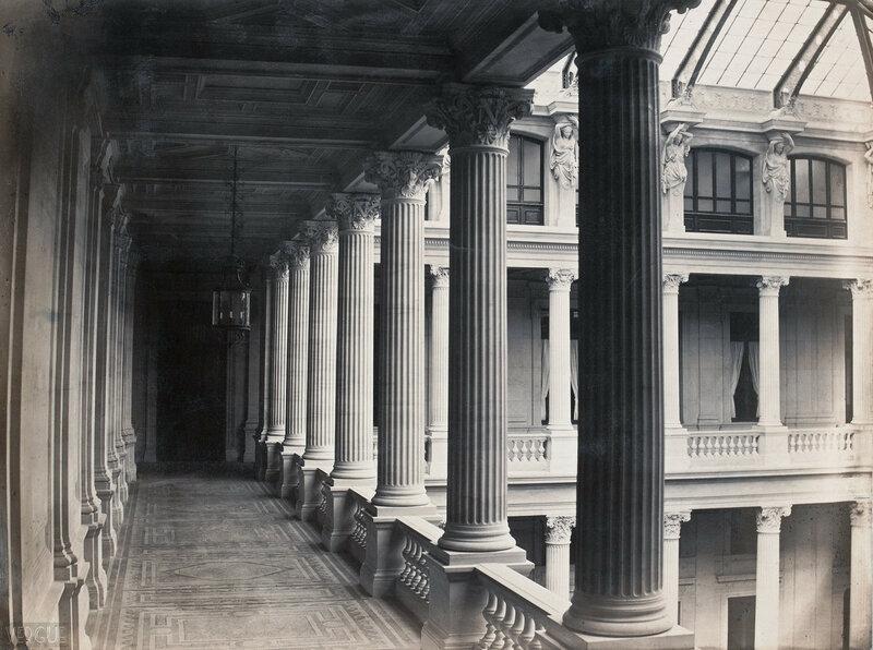 Атриум Хозяйственного суда. 1865