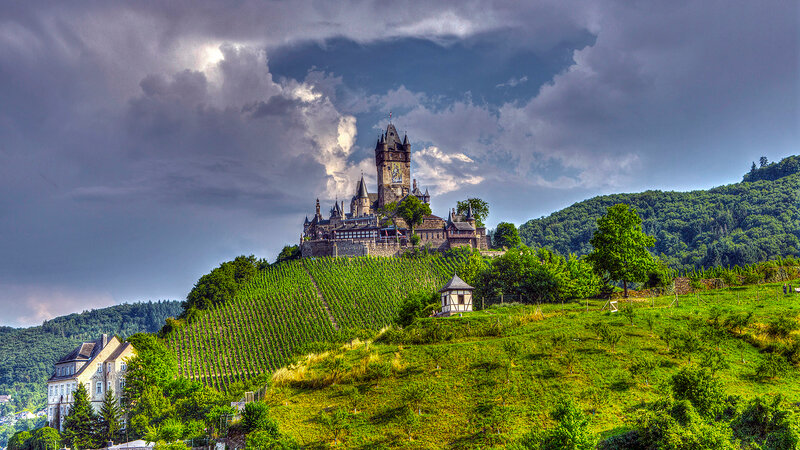 ����� ���������, �������� ( Reichsburg Castle, Germany )