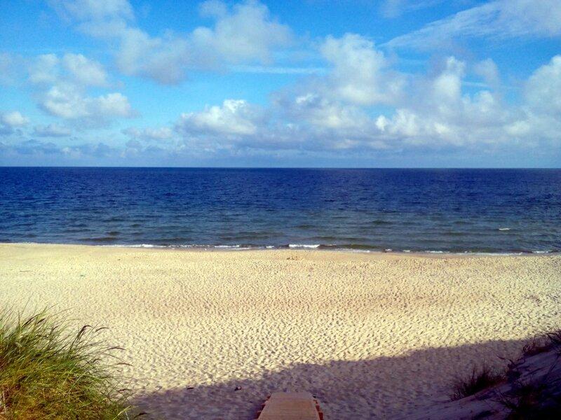Взгляд на утреннюю Балтику