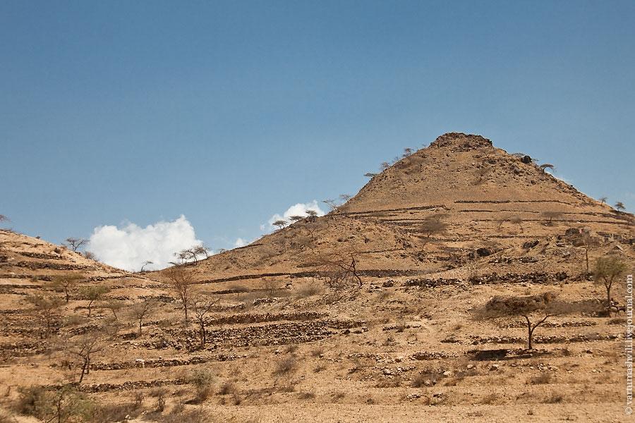Эритрея. По дороге из Керена в Массаву