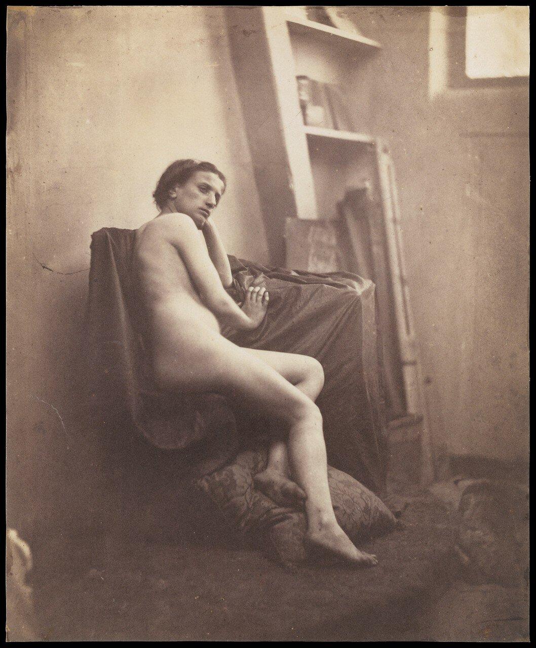 1856. Обнаженная в студии