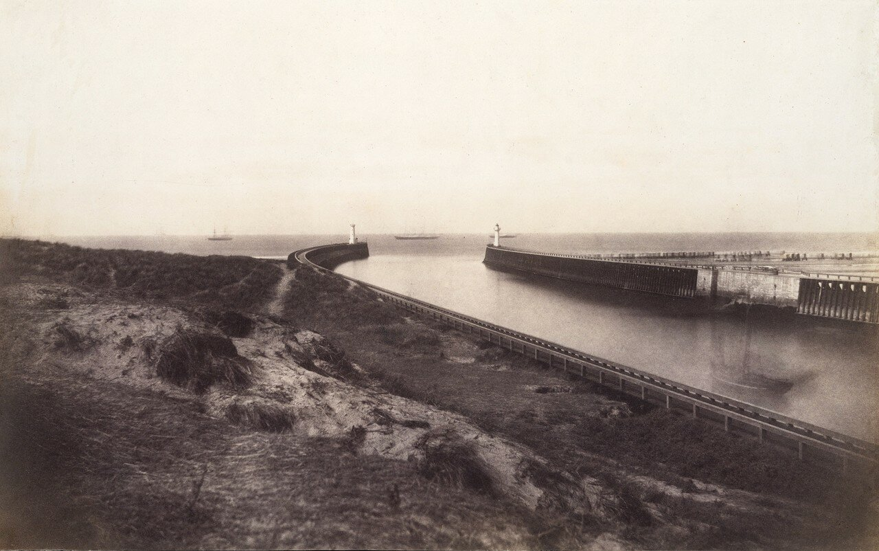 1855. Вход в порт, Булонь