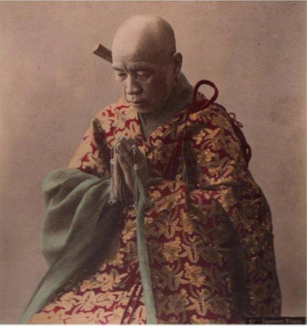 Будистский священник