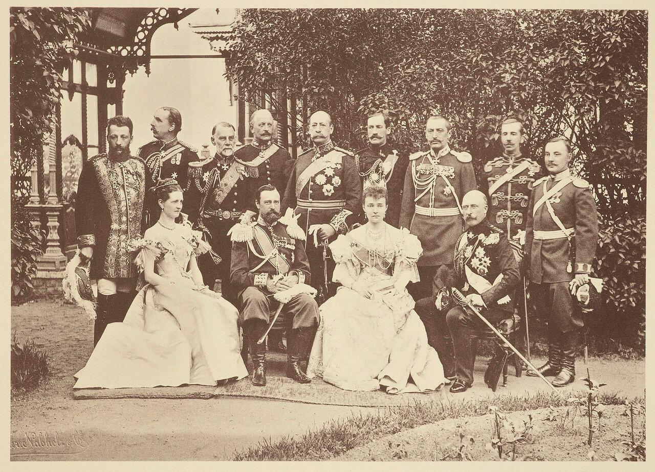 Представители Великобритании на коронации Николая II