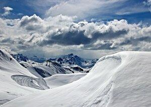 Только трасса, только снег и ты...