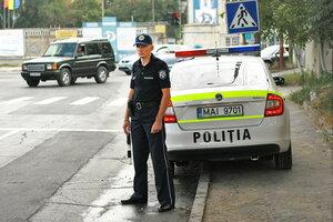 Полиция Молдовы не будет заниматься мелкими ДТП