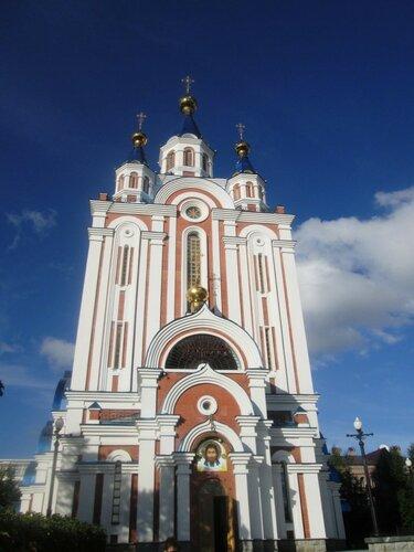 комсомольская площадь. церковь