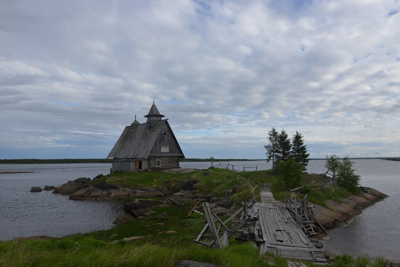 Кемь. Здесь снимали фильм Остров.