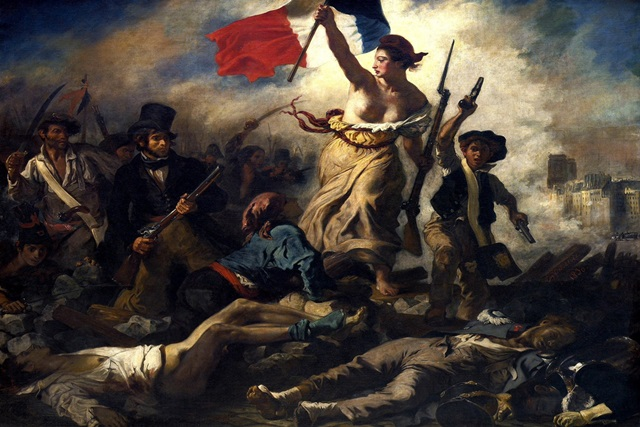 Знаменитую картину изрисовали маркером в Лувре. Фото 0 11b08d d5b73c9 orig