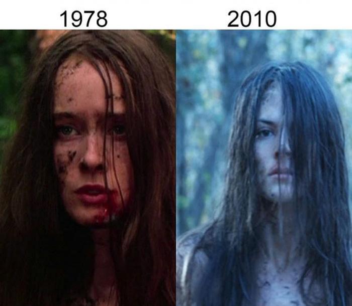 Как изменились костюмы и грим героев фильмов с развитием кино