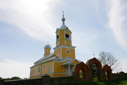 Храм Свт. Николая Чудотворца пос. Ляудери