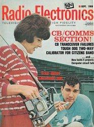 Журнал Radio-Elektronics №9 1966