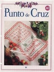 Журнал Punto de cruz Colección RBA nº40