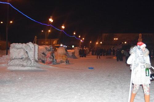 Куйбышев новогодний-2015, Аспект