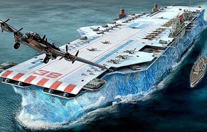 авианосец изо льда