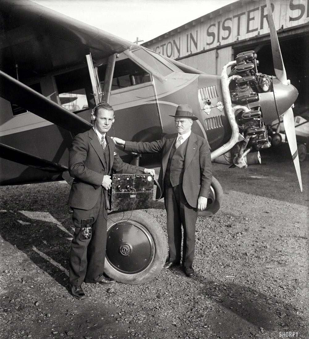 Самолеты и пилоты начала 20-го века на снимках американских фотографов (37)