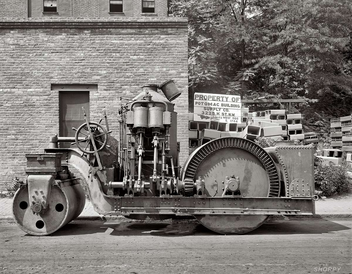 Специализированные транспортные средства начала 20-го века на снимках американских фотографов (53)
