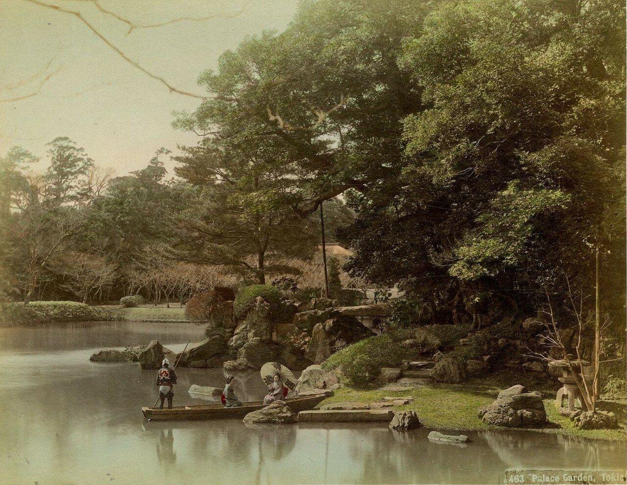 Токио. Дворцовый сад