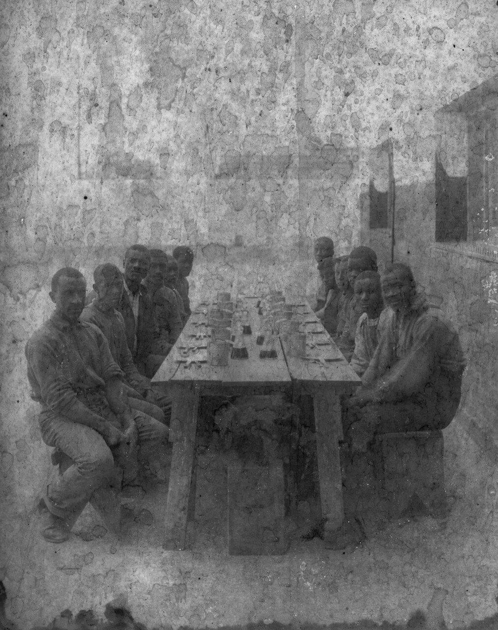 1900. Заключенные окружной тюрьмы в Новом Орлеане