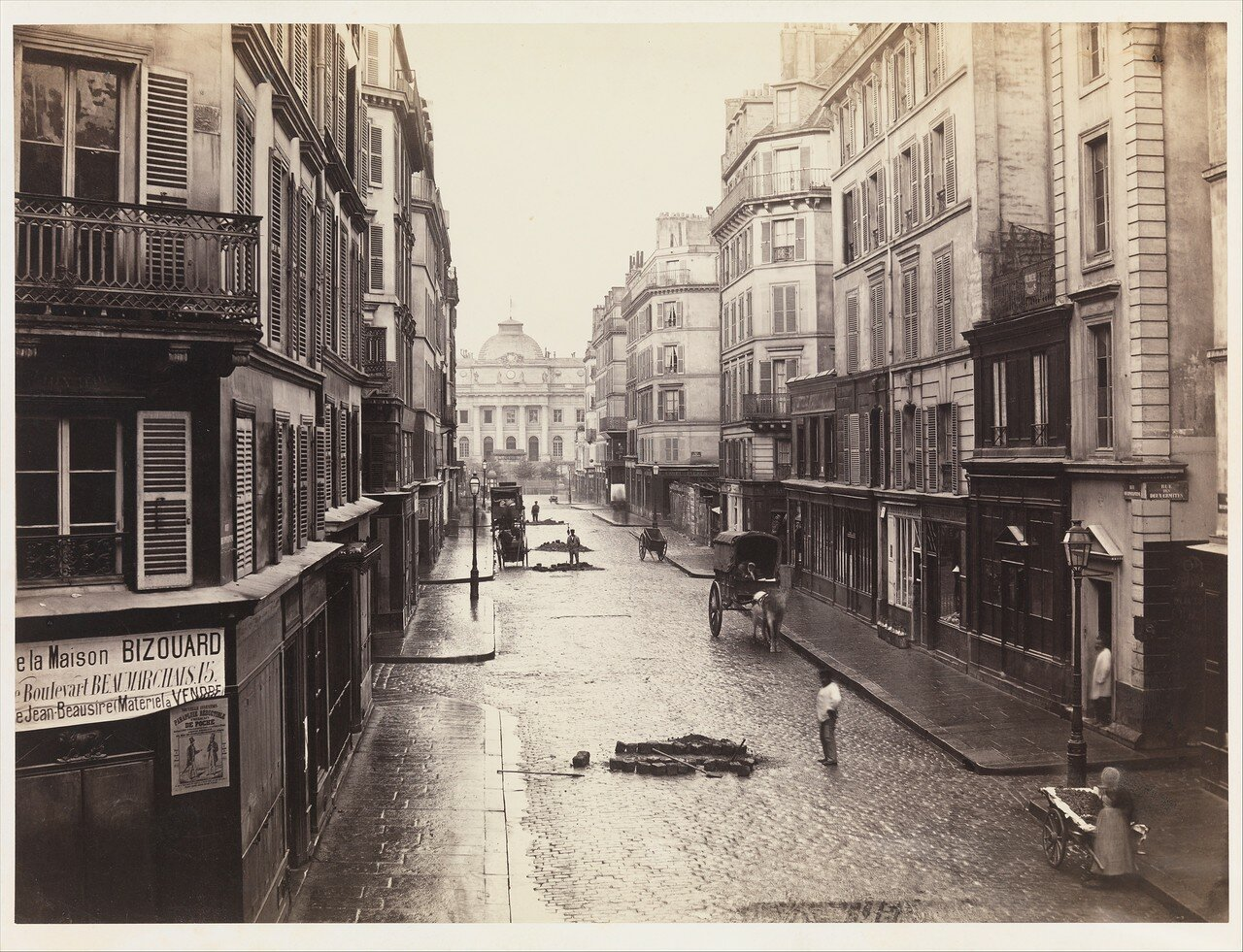 Рю де Константин. 1865