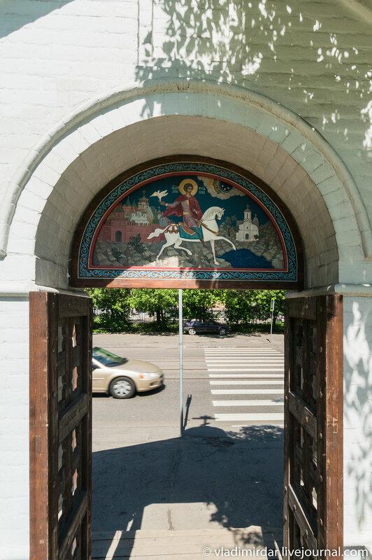 Ворота к Храму святого Трифона в Напрудном
