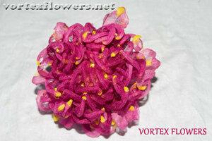 Мастер-класс. Хризантема из ткани «Ягодка» от Vortex  0_fbf86_57a817c6_M