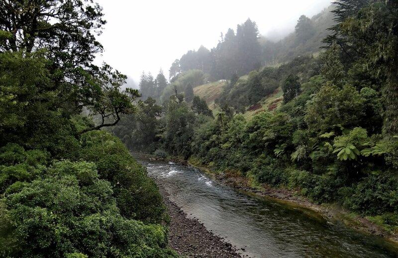 Дождь в горах....