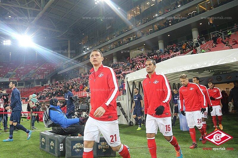 «Спартак» vs «Мордовия» 4:2 Премьер-лига 2014-2015 (Фото)