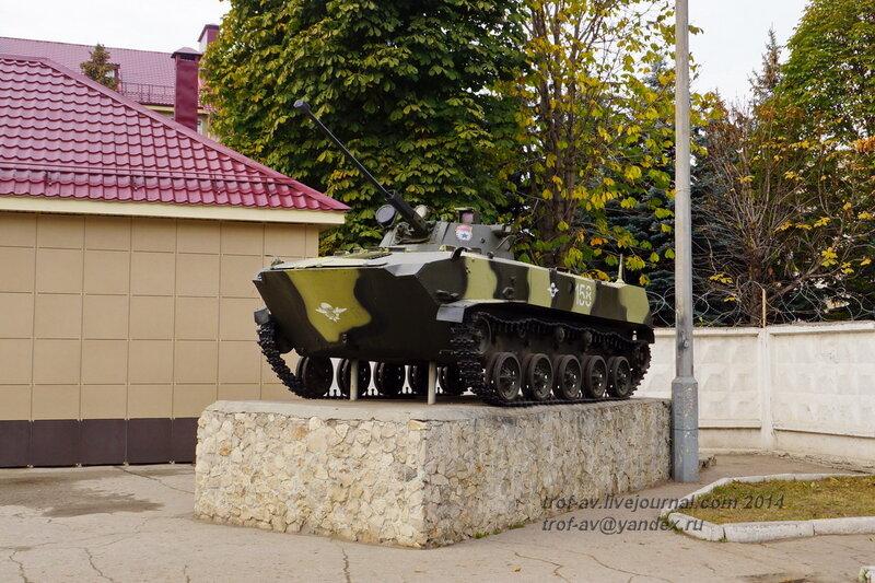 БМД-2. Памятники на территории бывшего Рязанского военного училища (сейчас автомобильный факультет  воздушно-десантного училища)