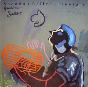 Spandau Ballet ‎– Pleasure (1983) [Chrysalis, 601 092]