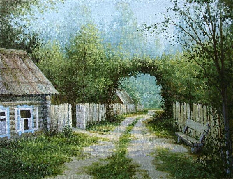 Белорусский художник Олег Чувашев. Нежные пейзажи и натюрморты 0 1110b9 e18de70e XL