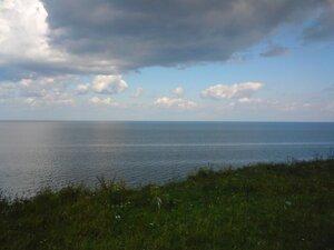 Облака над озером Ильмень в Новгородской области