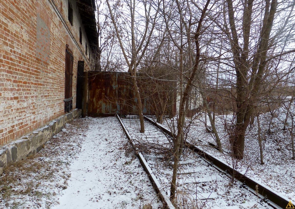 Закинутий цукровий завод у смт. Кожанка